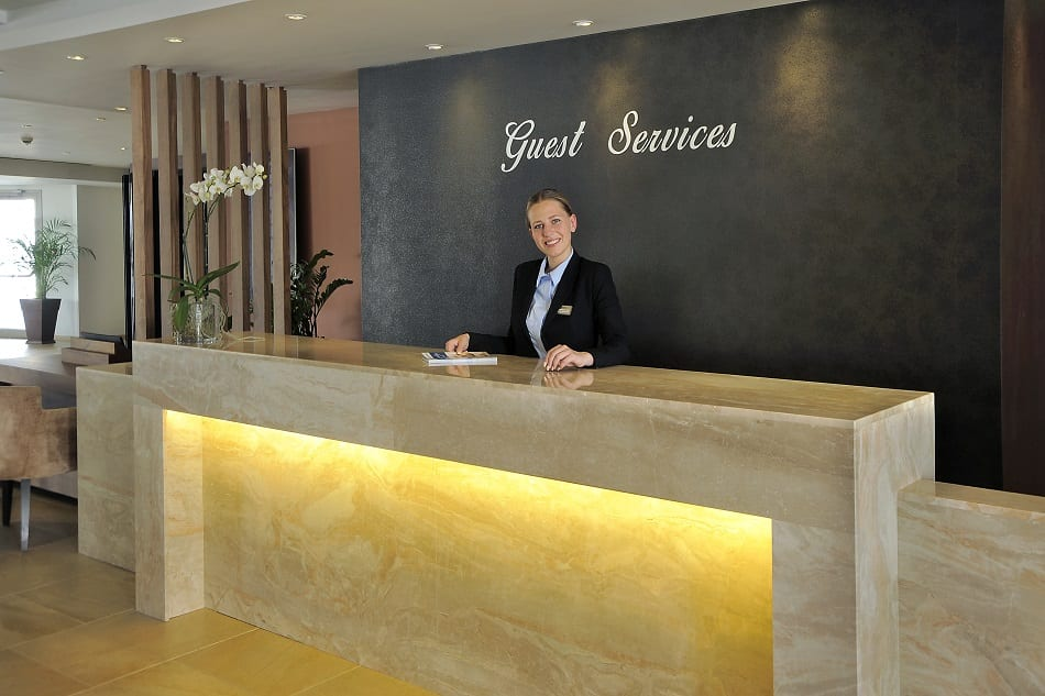 Guests first, Guest Services, Staff