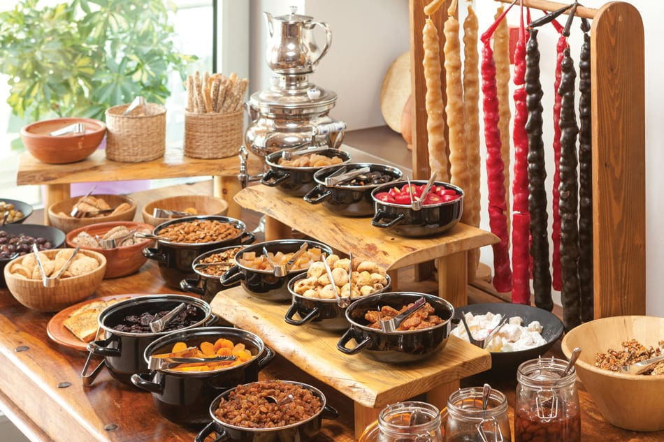 Healthy, Wholesome Food Holiday in Cyprus